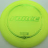 Force - yellow - z-line - green-micro-dots-and-stars - 304 - 173-175g - 175-3g - somewhat-domey - somewhat-stiff