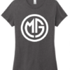 Missy Gannon Shirt - xs-womens - heathered-charcoal - 50-poly-25-cotton-25-rayon