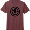 Missy Gannon Shirt - s-mens - maroon-frost - 50-poly-25-cotton-25-rayon
