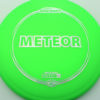 Meteor - green - z-line - silver-squares - 177g-2 - 178-8g - somewhat-domey - neutral