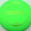 Meteor - green - z-line - green-mini-dots-and-stars - 177g-2 - 177-9g - somewhat-domey - somewhat-gummy
