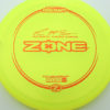 McBeth Zone - Z Line - Paul McBeth Signature Series - yellow - bronze-dots-and-stars - 173-175g - 174-6g - somewhat-puddle-top - neutral