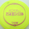 McBeth Zone - Z Line - Paul McBeth Signature Series - yellow - pink-mini-dots-and-stars - 173-175g - 174-6g - somewhat-puddle-top - neutral