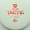 Discmania Tactic - white - exo-soft - red - 173g - 172-8g - super-flat - somewhat-gummy