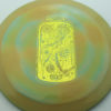 Kevin Jones Jelly Jar D2 - 400 Spectrum - Pirate Nate - Drop 2 - yellow-gold - 174g - 177-3g - neutral - somewhat-gummy