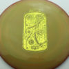 Kevin Jones Jelly Jar D2 - 400 Spectrum - Pirate Nate - Drop 2 - yellow-gold - 173g - 174-7g - somewhat-domey - somewhat-gummy