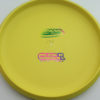 Aviar - Putt and Approach - yellow - dx - rainbow-jelly-bean - 304 - 175g - 173-9g - somewhat-flat - somewhat-stiff