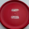 Aviar - Putt and Approach - red - dx - silver-dots-small - 304 - 175g - 175-7g - pretty-flat - somewhat-stiff