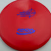 Mako3 - red - star - blue-fracture - 180g - 180-3g - somewhat-domey - neutral