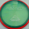 Insanity - blue-green - red-pink - proton - silver - 304 - 1194 - 167g - 168-3g - somewhat-flat - somewhat-stiff