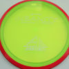 Insanity - yellowgreen - red-pink - proton - silver - 304 - 1194 - 169g - 169-9g - somewhat-flat - somewhat-stiff