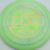 Zeus - Paul McBeth - gold-shatter-dots - 173-175g - 174-9g - slight-dome-to-a-puddle-top-center - somewhat-stiff
