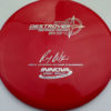 2x Wysocki Destroyer - Classic Signature Stamp - red - silver - 171g - 171-9g - somewhat-domey - neutral