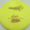 2x Wysocki Destroyer - Classic Signature Stamp - yellow - red - 166g - 166-7g - somewhat-domey - neutral