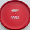 Aviar - Putt and Approach - red - dx - silver-dots-small - 304 - 175g - 173-3g - pretty-flat - somewhat-stiff
