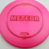 Meteor - pink - z-line - red - 177g-2 - 177-7g - somewhat-domey - neutral