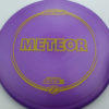 Meteor - purple - z-line - yellow - 175-176g - 177-4g - somewhat-domey - neutral