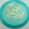 Diamond - blue - opto - gold - 158g - 160-0g - somewhat-domey - neutral