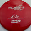 2x Wysocki Destroyer - Classic Signature Stamp - red - silver-dots-small - 173-175g-2 - 174-0g - pretty-domey - somewhat-stiff
