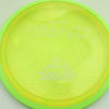 Insanity - yellow - yellow-green - proton - silver - 304 - 1194 - 172g - 174-0g - somewhat-flat - neutral