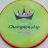 Paradox - DGPT Championships - Neutron - blend-yellow-green - red - pink-purp-fade - black - silver - 177g - 177-6g - somewhat-flat - neutral