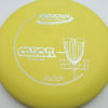Aviar - Putt and Approach - yellow - dx - silver - 304 - 175g - 174-3g - somewhat-flat - somewhat-stiff