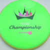 Paradox - DGPT Championships - Neutron - green - light-yellow - pink-purp-fade - black - silver - 178g - 178-9g - somewhat-domey - somewhat-stiff